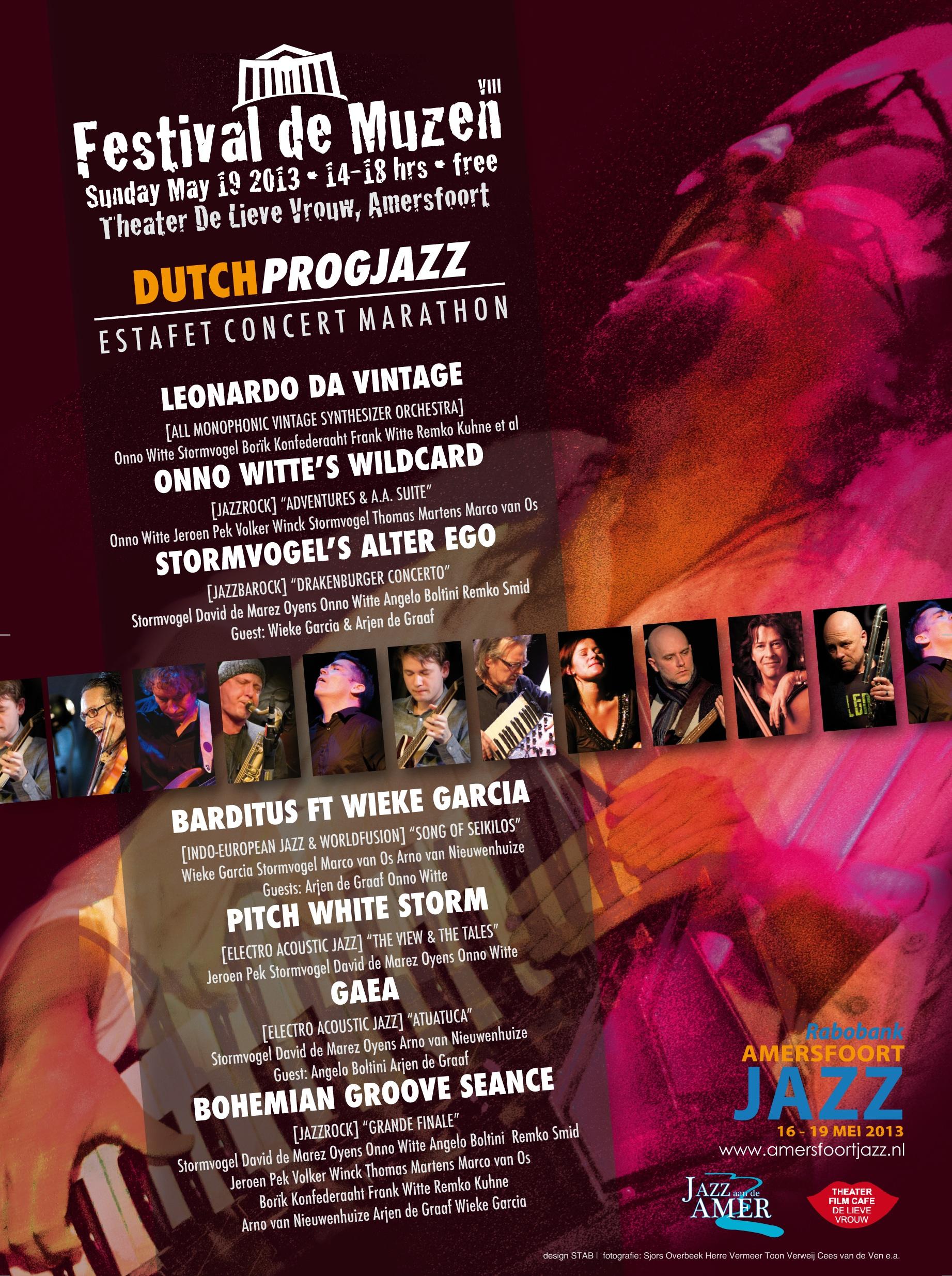 Stormvogel presents Festival de Muzen 2013