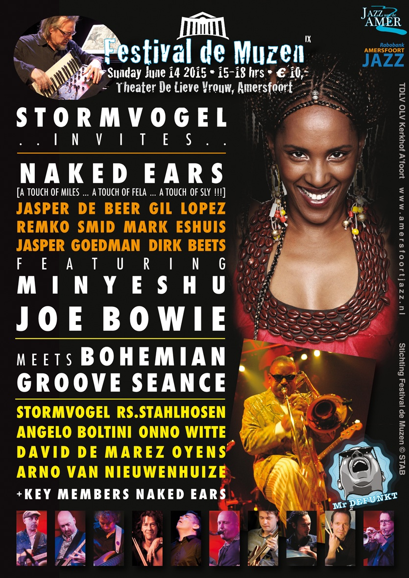 STORMVOGEL presents Dutch Progjazz Estafette FESTIVAL DE MUZEN