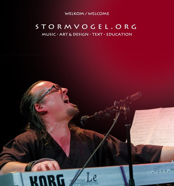 STORMVOGEL website welcom_
