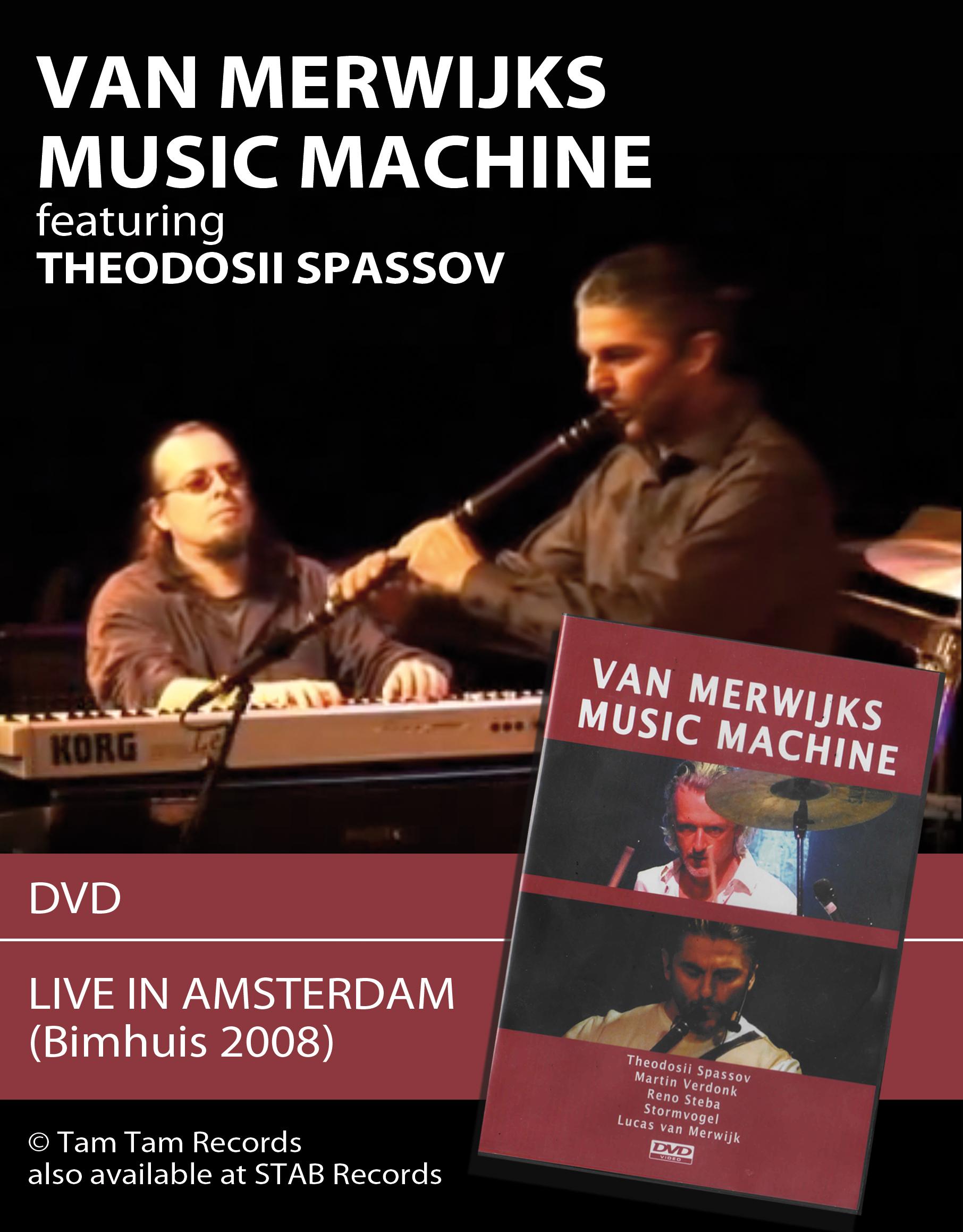 VMMM DVD MERWIJK SPASSOV BIMHUIS
