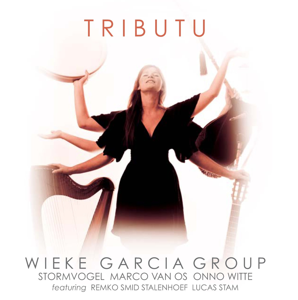 WIEKE GARCIA CD 'TRIBUTU' (2011) Stormvogel: music, production, design