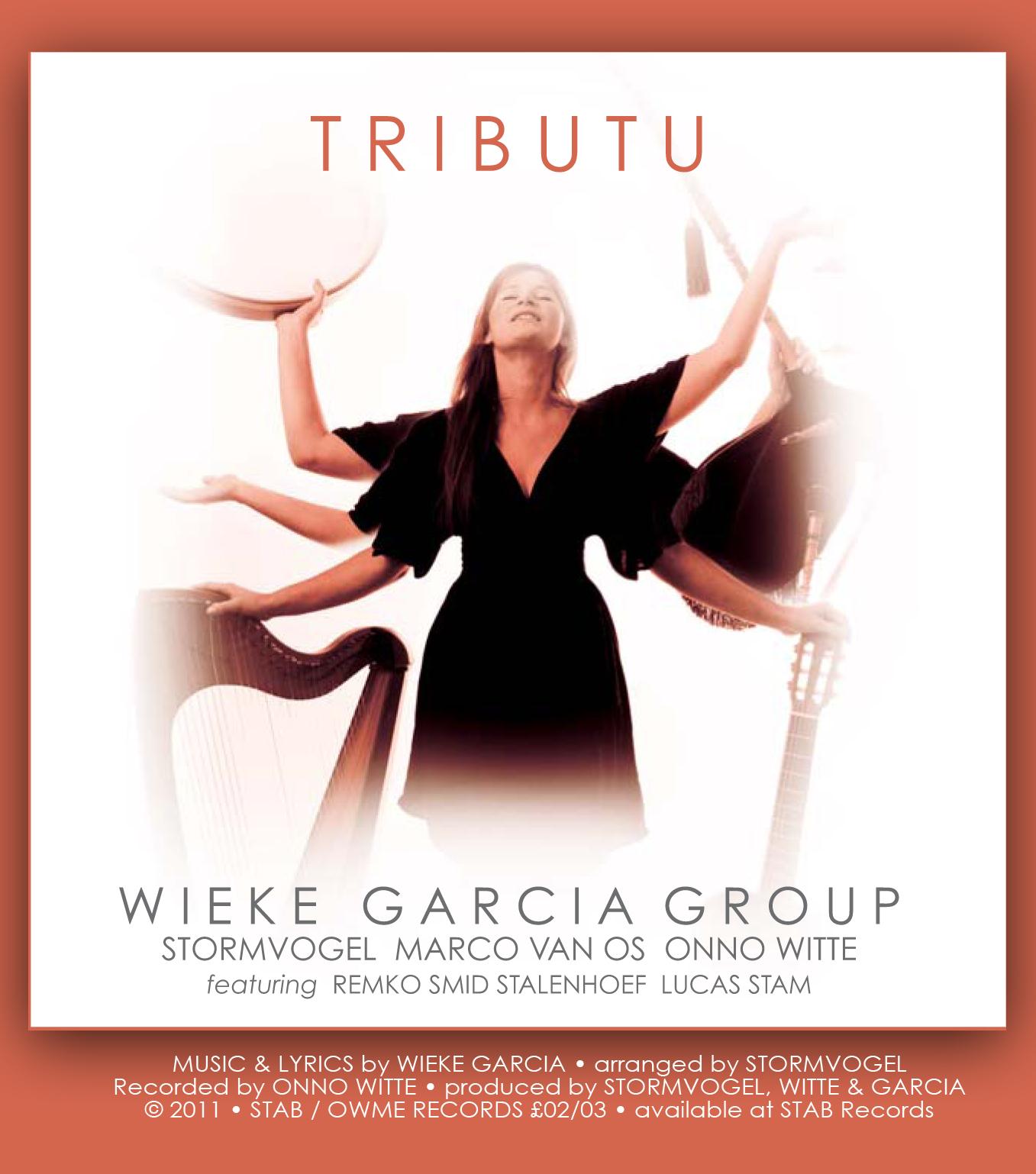 WIEKE GARCIA CD 'TRIBUTU' (2011) Stormvogel: music, production, design