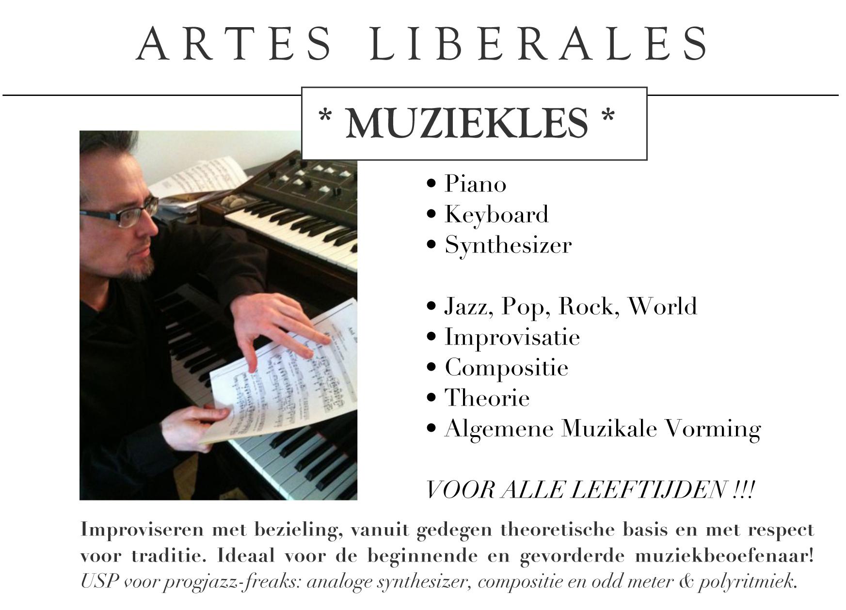 ARTES LIBERALES muziekles