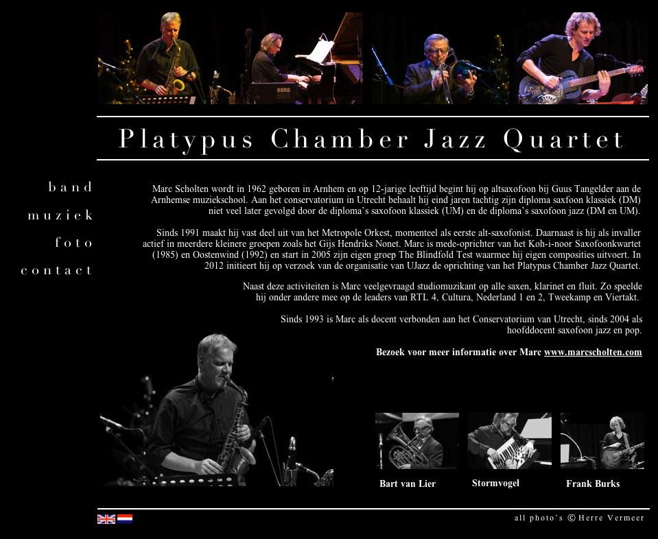 Platypus Chamber Jazz Quartet (Marc Scholten)